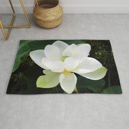 White Lotus Rug