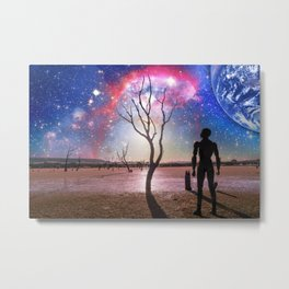 Fantasy alien landscape Metal Print