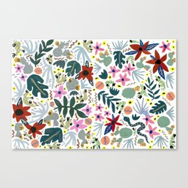 Happy Southwest Tropics Canvas Print