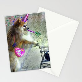 Cute Little Party Animal Stationery Cards