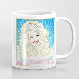 Dolly Parton American Angel Coffee Mug