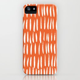 Brush Stroke Staccato iPhone Case