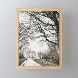 Midhope Castle Photo | Serie Film Location Photography | Lallybroch Castle Framed Mini Art Print