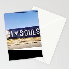 I <3 Souls Stationery Cards