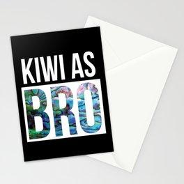 KIWI AS BRO NEW ZEALAND Stationery Cards