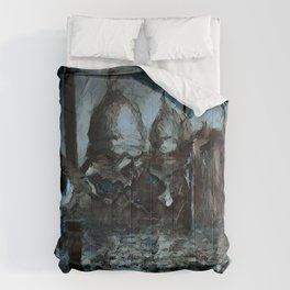 Rusalka: Москва (Night) Comforters