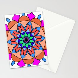 Hand drawing zentangle color Stationery Cards