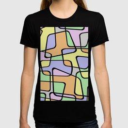 Mid Century Pastel Art T-shirt