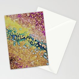A stream trickles through it Stationery Cards