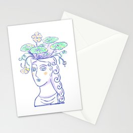 Antique vase neoclassical Stationery Cards