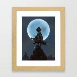 Child of Night Framed Art Print
