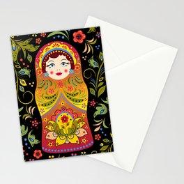 Russian matrioshka Stationery Cards