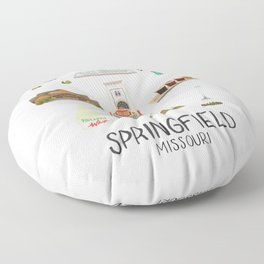 Springfield, Missouri Floor Pillow