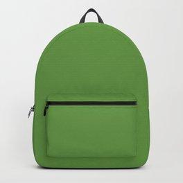 Floral Abundance ~ Green Leaves Backpack