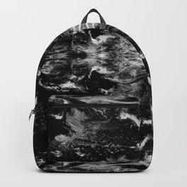 Black-and-White Batik Design 013 Backpack