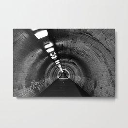 Beneath the Thames Metal Print