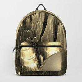 Golden Fractal 2 Backpack