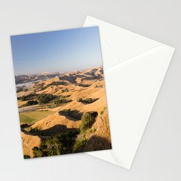 LANDSCAPE PHOTOGRAPHY OF MOUNTAIN AND LAKE Stationery Cards