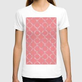 Moroccan geometric design T-shirt