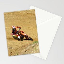 Turning Point Motocross Champion Race Stationery Cards