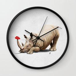 Horny (Wordless) Wall Clock