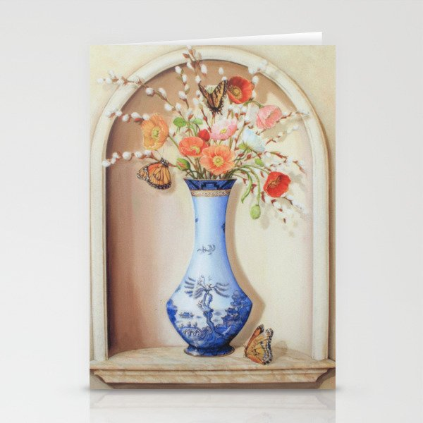 Blue Willow Niche Stationery Cards