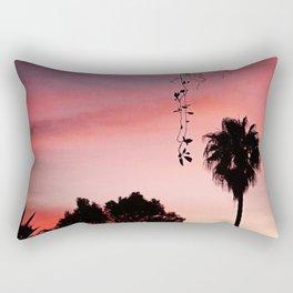 Pink Morning Rectangular Pillow