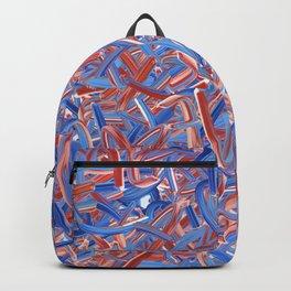 America Typography Randomised  Backpack