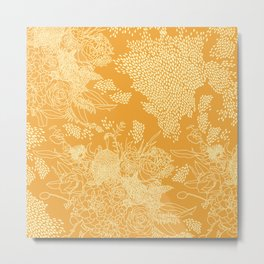 Bardot Tangerine Metal Print