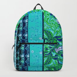 Green Dream - by Fanitsa Petrou Backpack
