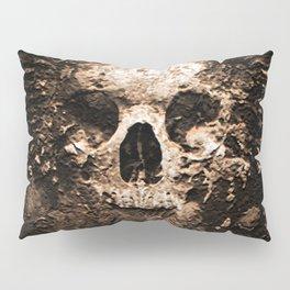Skull Face Scary Pillow Sham