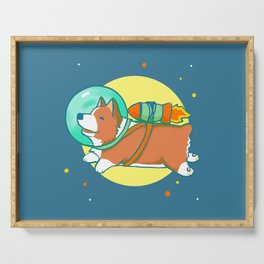 Space Corg Serving Tray