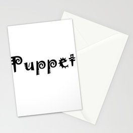 Puppet Stationery Cards