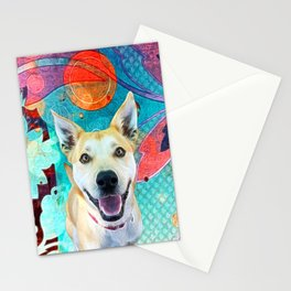 Austin Red Sun Stationery Cards