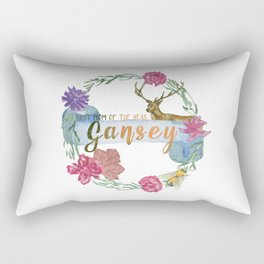 """""""Gansey - Best Mom of The Year"""" The Raven Cycle Inspired Rectangular Pillow"""