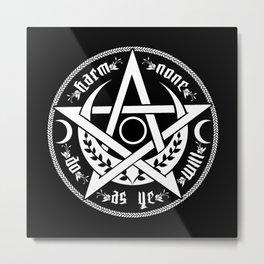 DO AS YE WILL Metal Print