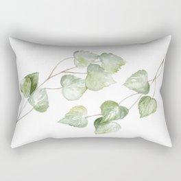 Aspen Watercolor Rectangular Pillow