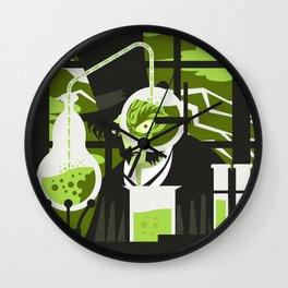 evil monster tranformation Wall Clock