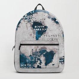 world map 13 #worldmap #map #world Backpack
