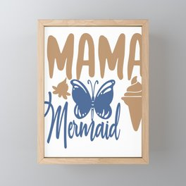 Mama - Adventure Design Framed Mini Art Print