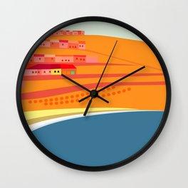 Rosarito Seashore Wall Clock