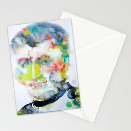 NAPOLEON - watercolor portrait Stationery Cards