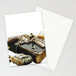 Gun nn a bible Stationery Cards