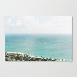 Oahu Dreaming Canvas Print