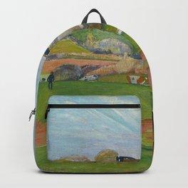 Paul Gauguin - Landscape at Le Pouldu Backpack
