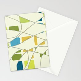 Flying Circles Stationery Cards