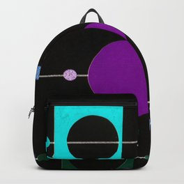 Xmas garlands in the dark Backpack