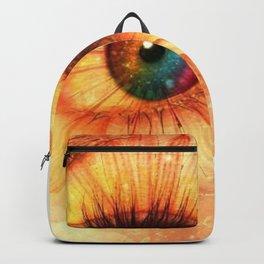 Eye Of Spring Backpack