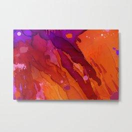 Abstract streams  Metal Print