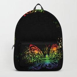 Gay Butterflies Homo Csd Gays Backpack